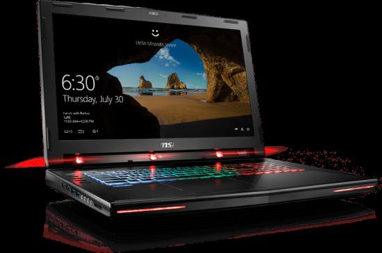 Ноутбук MSI GT72VR 6RE Dominator Pro Tobii