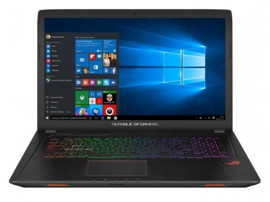 Ноутбук ASUS ROG STRIX GL753V