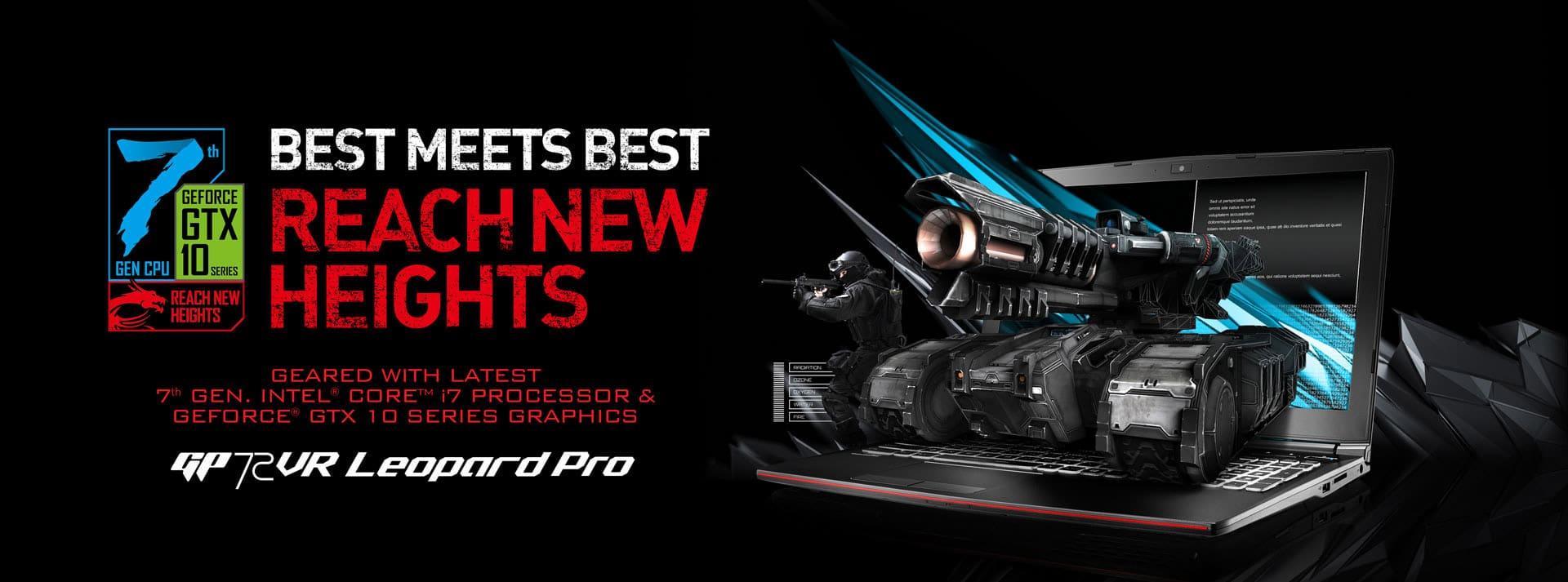 Ноутбук MSI GP72 7RE Leopard Pro