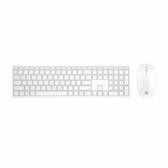 HP Pavilion Wireless Keyboard & Mouse 800 White