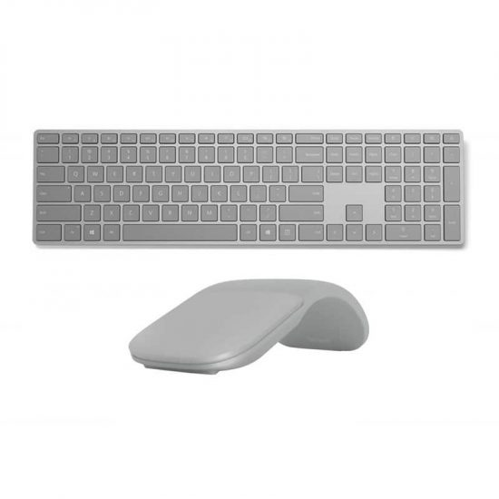 Microsoft Surface Keyboard + Surface Arc Mouse Bluetooth