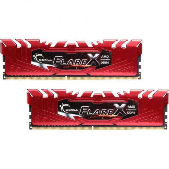 G.SKILL 16GB 2400MHz Flare X Red Ryzen CL15 (2x8GB)