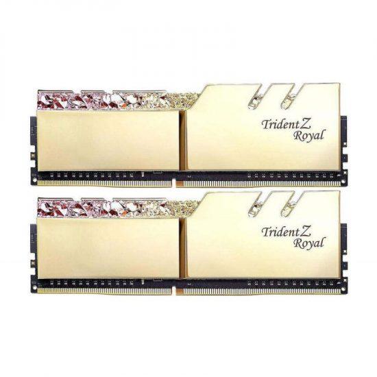 G.SKILL 16GB 4266MHz TridentZ Royal Gold CL19 (2x8GB)