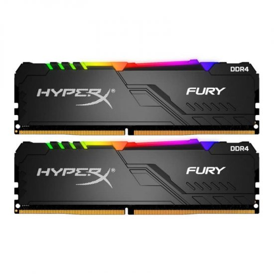 HyperX 32GB 2400MHz Fury RGB CL15 (2x16GB)