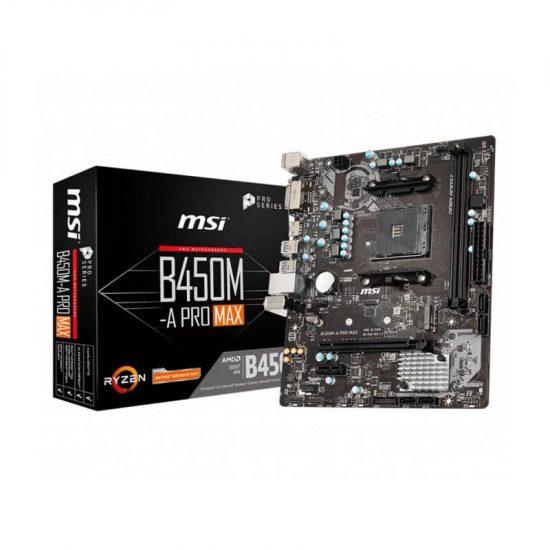 MSI B450M‑A PRO MAX