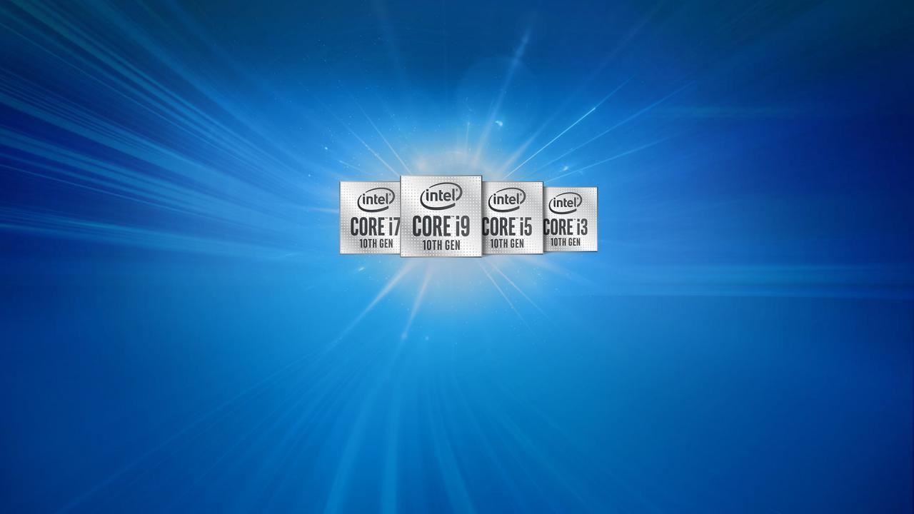 Ноутбуки с процессором 10 поколения